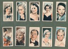 Tobacco Cigarette cards Film Stars 1934, Greta Garbo .Dietrich
